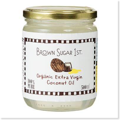 ブラウンシュガーのココナッツオイル