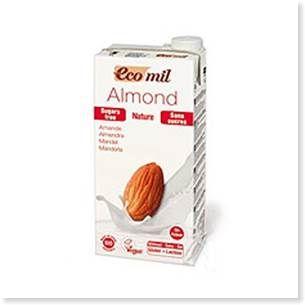 EcoMilのアーモンドミルク(ブリック)200ml
