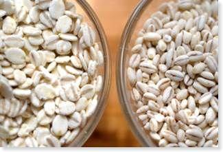 押し麦ともち麦