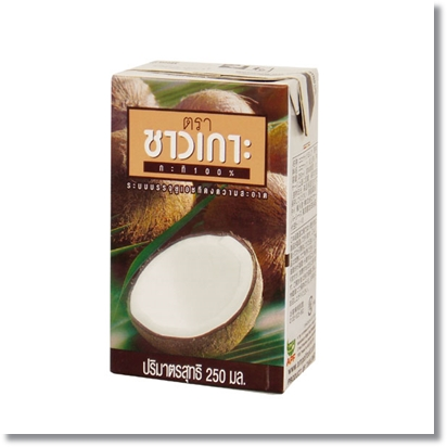 チャオコー ココナッツミルク 紙パック 250ml