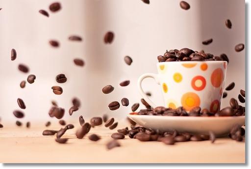 コーヒーとカップ