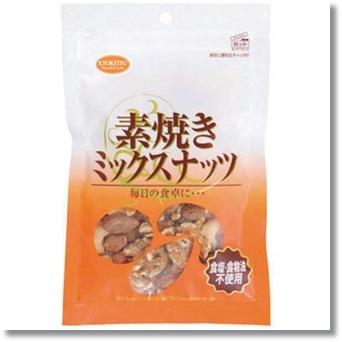 共立食品 素焼きミックスナッツ80g
