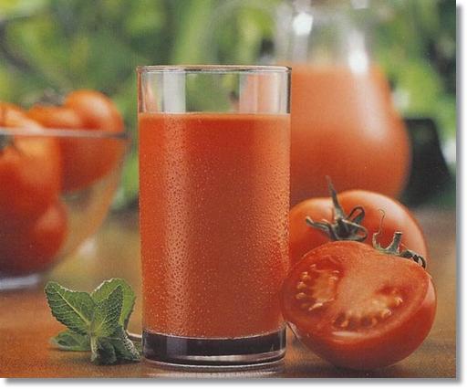 トマトとトマトジュース